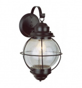 Trans Globe Lighting 69901 RBZ 1 Light Coach Lantern - RUSTIC BRONZE