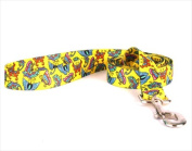 Yellow Dog Design BTY105LD 3/4 in. x 60 in. Butterflies on Yellow Lead
