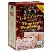 Nature's Path Organic Frosted Toaster Pastries Cherry Pomegranate