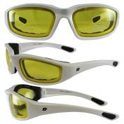Birdz Eyewear Oriole Padded Motorcycle Glasses