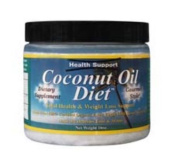 Health Support 0721373 Raw Coconut Oil - 450ml
