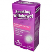 Natra-Bio 0737817 Smoking Withdrawl Non-Habit Forming - 60 Tablets