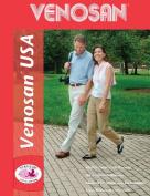 Venosan 3040112 USA 30-40mmHg Open Toe Knee High Support Stockings - Size- Small