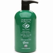 Dr. Bronner's Fair Trade & Organic Shikakai Hand & Body Pump Soap -