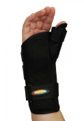 MAXAR Wrist Splint with Abducted Thumb - Left Hand Medium
