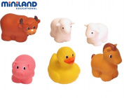 Miniland Educational 97224 Pettinos- farm animals