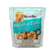 Nutri-Vet 01925-2 Breth & Tartar Biscuits 580ml