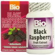 Bio Nutrition Inc 1124494 Black Raspberry Fruit Extract - 60 Vegetarian Capsules