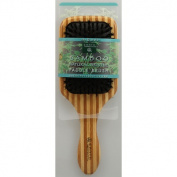 Earth Therapeutics 1019504 Large Bamboo Natural Bristle Paddle Brush - 1 Brush