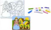 Melissa and Doug 4916 Princess Canvas Creations
