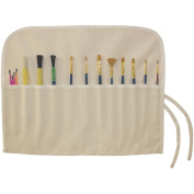 Canvas Artist Brush Holder 46cm x 36cm -Natural