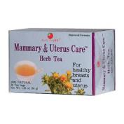 Health King Medicinal Teas 0417394 Mammary and Uterus Care Herb Tea - 20 Tea Bags