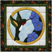 Hummingbird Quilt Magic Kit-30cm X12