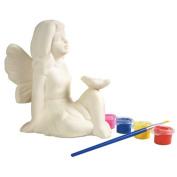 Sassafras Enterprises 22244FY My Little Garden Paint Your Own Garden Fairy