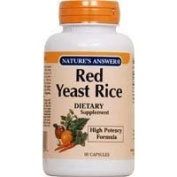Nature's Answer Red Yeast Rice 600mg 90 cap