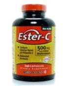 American Health Ester-C with Citrus Bioflavonoids, 60 Caps, 500 Mg