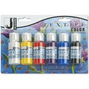 Jacquard Textile Colour, 6pk