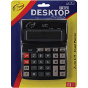 A & W Office Supplies AW08203 Desktop Calculator 8-Digit 7.5X5.75