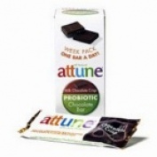 Attune Foods 10397 Attune Foods Chocolate Crisp Probiotic Bar- 4x7x0.7 OZ