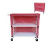 MJM International 345T-2C Linen Cart