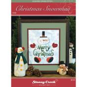 Stoney Creek 432247 Stoney Creek Chart Packs-Christmas Snowman