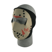 Zan Headgear WNFM213G Neoprene Face Mask Glow in the Dark Jason Mask