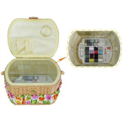Michley Electronics FS-095 Lil Sew 42pc Sewing Basket