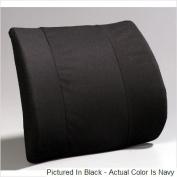A6006N Premium Lumbar- Flat Back moulded foam-Navy