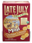 Late July 37885 Organic Mini Cheeze Sandwich Cracker