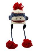 Nirvanna Designs CH Smnky-blue K S Monkey Blue Hat - Kids