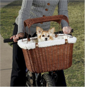 Solvit SOLV62331 Wicker Bike Basket