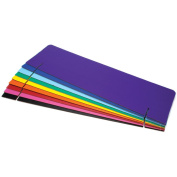 Corrugated Header Boards 90cm x 25cm 12pc Assortment-Assorted Colours
