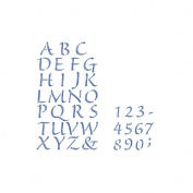 Simply Stencils Value Pack, 2-Pack, Alphabet/Numbers