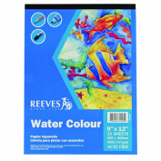 Reeves Water Colour Paper Pad, 35 Sheets, 41kg