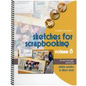 Scrapbook Generation 160119 Scrapbook Generation-Sketches For Scrapbooking Volume 8