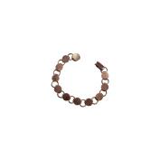 Fuseworks Jewellery Findings-Antique Copper Link Bracelet 18cm - 0.5cm