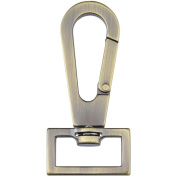 Nancy Zieman's Bag Hardware, 2.5cm , Swivel Latch, Satin Bronze