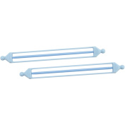 Clover Double Ended Stitch Holder, 13.3cm , Sizes 2 and 7, 2-Pack