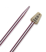 Susan Bates 11114-7 Silvalume Single Point Knitting Needles 14 in.-Size 7 -Rose