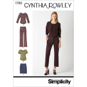 Simplicity Pattern Misses' Sportswear, Blouse/Pants/Mini Skirt,