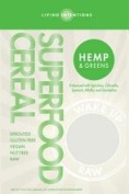 Living Intentions B23912 Living Intentions Hemp and Greens Superfood Cereal -9 Oz