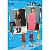Simplicity Pattern Girl's and Girl's Plus Dresses,