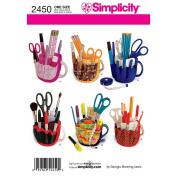 Simplicity Pattern Buckets Gone Wild Accessories, One Size