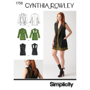 Simplicity Pattern Misses' Jackets,