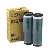Risograph S4206 S4206 Duplicator Ink Cartridge 2 Cartridges Black