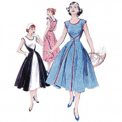 Butterick Pattern Misses' Wrap Dress, FF