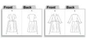 Vogue Pattern Misses' Dress, BB