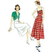 Vogue Pattern Misses' Dress, Belt and Bolero, E5