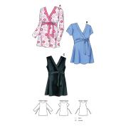 Kwik Sew K3487 Maternity Tops Sewing Pattern, Size XS-S-M-L-XL