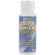 Deco Art 404246 Triple Thick Brilliant Brush-On Gloss Glaze-2 Ounces